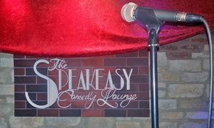 Groupon - $ 12 for a Friday- or Saturday-Night Comedy Show for Two at The Speakeasy Comedy Club (Up to $24 Value) in South Scottsdale. Groupon deal price: $12