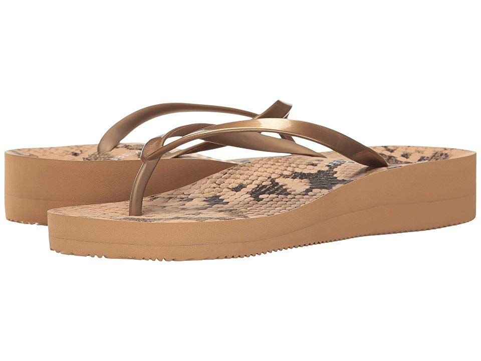 2c89a62aa9c VIONIC Coogee Women s Sandals Natural Snake Bronze