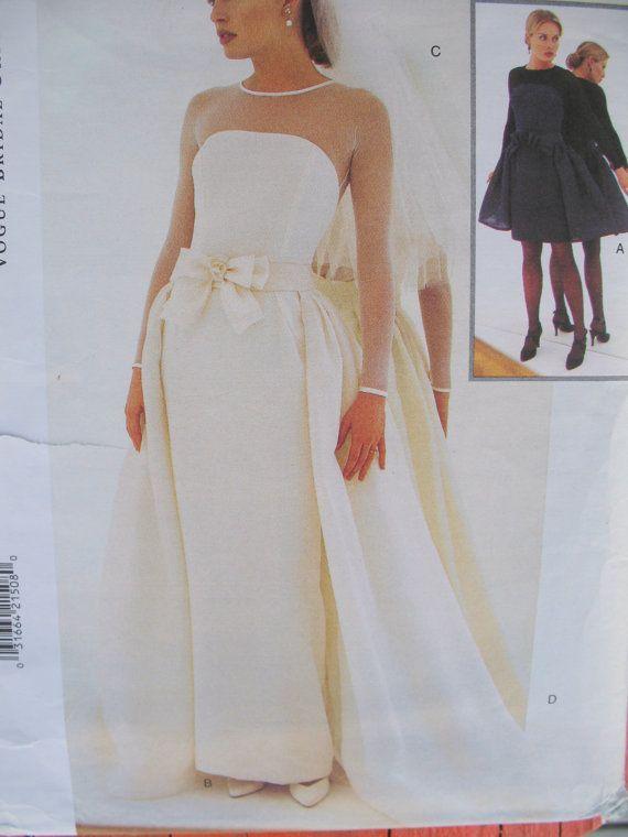 Vintage Vera Wang Bridal Collection Wedding Dress Patterns