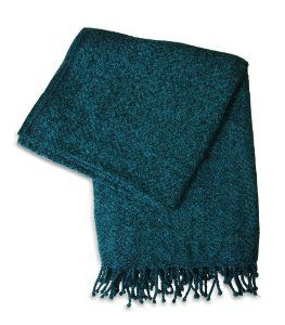 Dark Teal Throw Blanket With Fringe Google Search