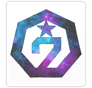 'Got7 Galaxy Logo (Ver.2)' Sticker by nicki17 สัญลักษณ์