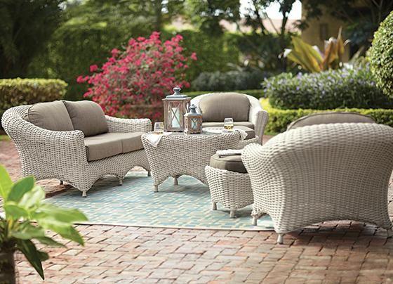 Martha Stewart Living Lake Adela Six-Piece Seating Set ... on Martha Stewart 6 Piece Patio Set id=81105