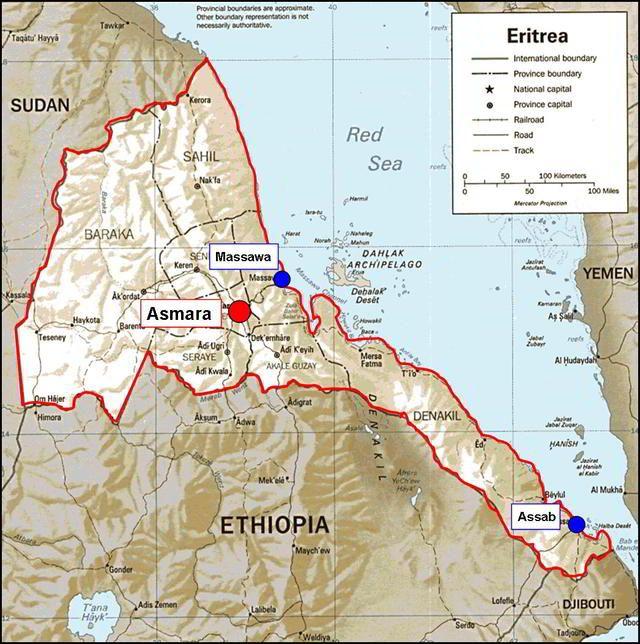 Eritrea Map Google Search Maps Of Ethiopia Pinterest Ethiopia - Eritrea map