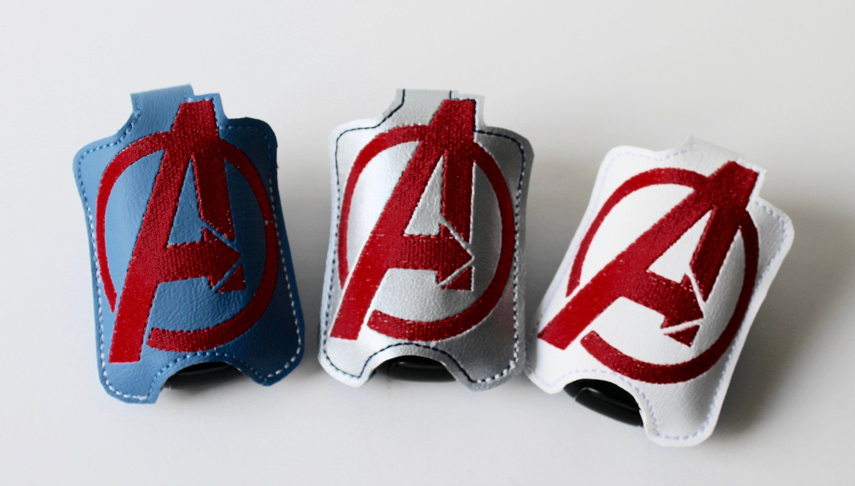 Super Heroes Hand Sanitizer Holders Creations By Connie