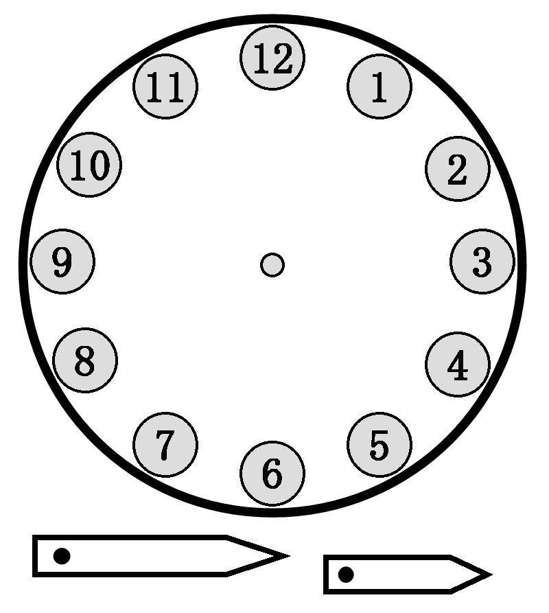 plantilla para reloj de pared para colorear  Buscar con Google
