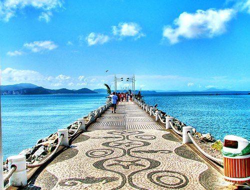 Deck Da Barra Sul Em Balneario Camboriu Santa Catarina
