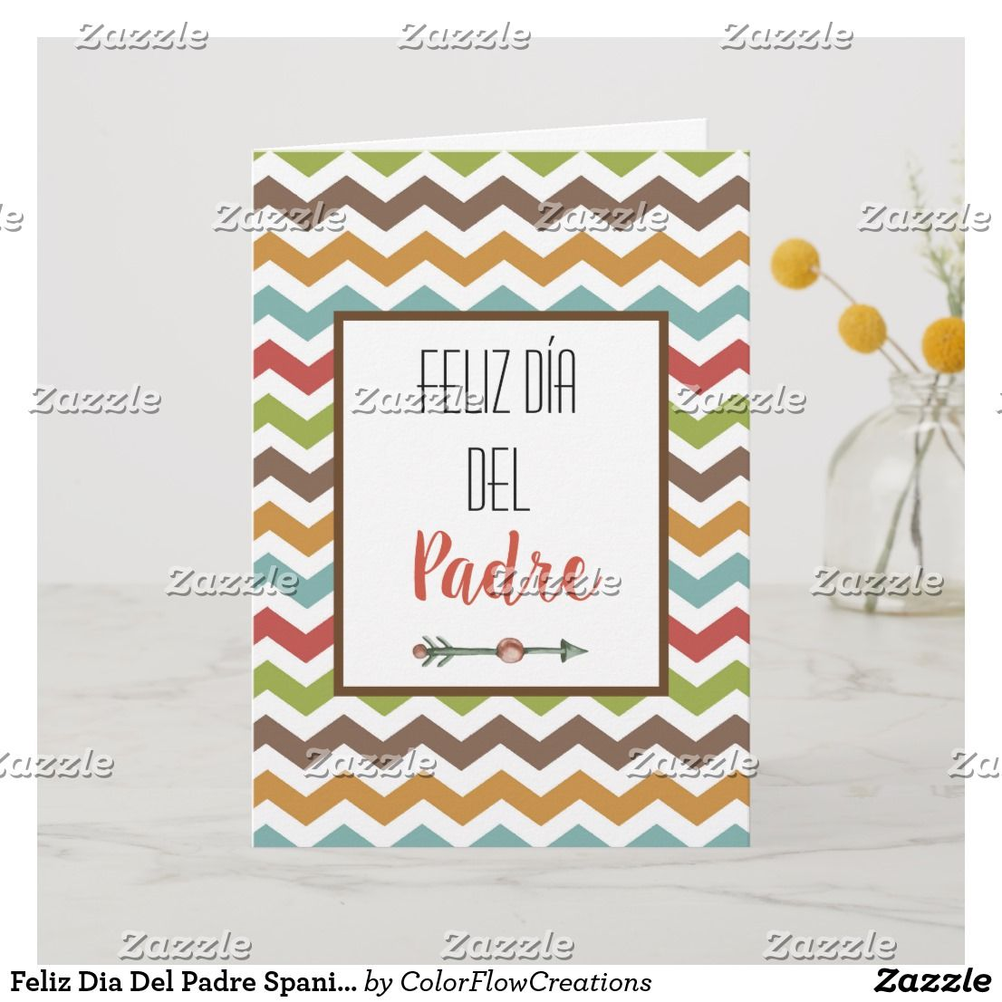 Feliz Dia Del Padre Spanish Fathers Day Card | Zazzle.com