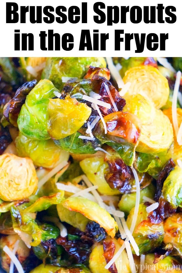 Brussel sprouts in the air fryer are just amazing Tender brussels with a bit of a crispy outside will get you to love this understated vegetable