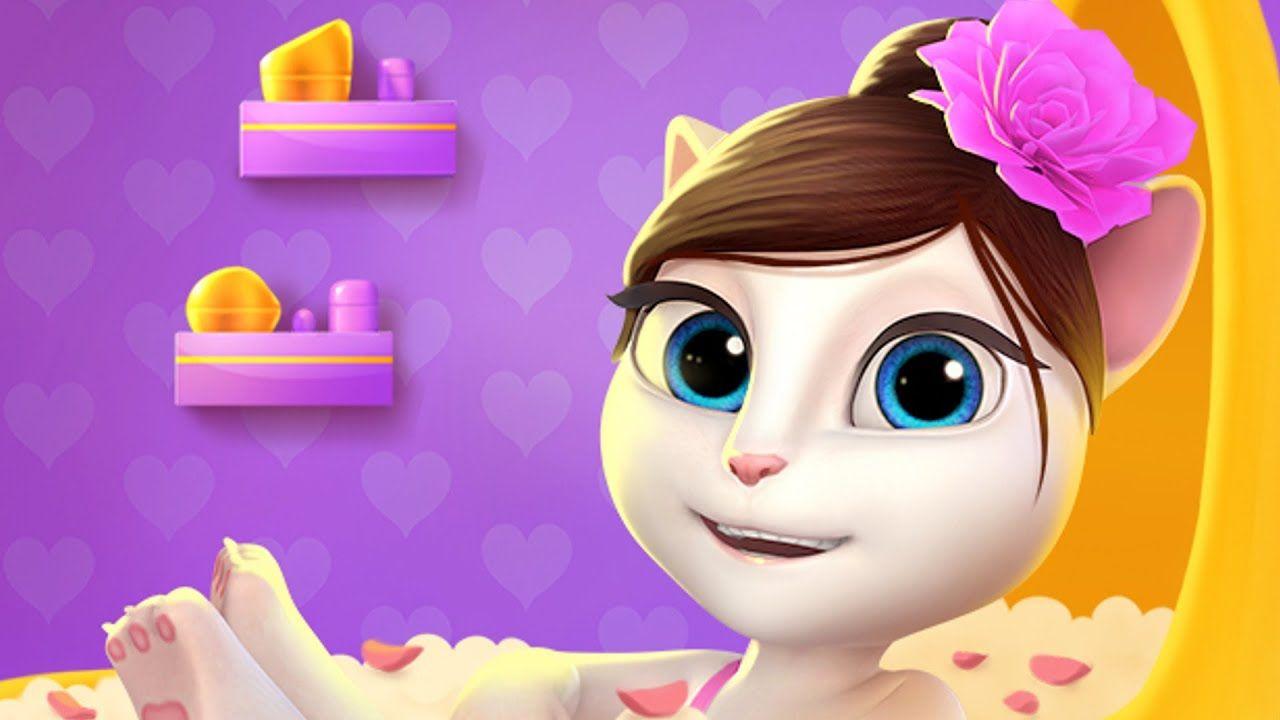 My talking Angela Gameplay Virtual Pet to take care