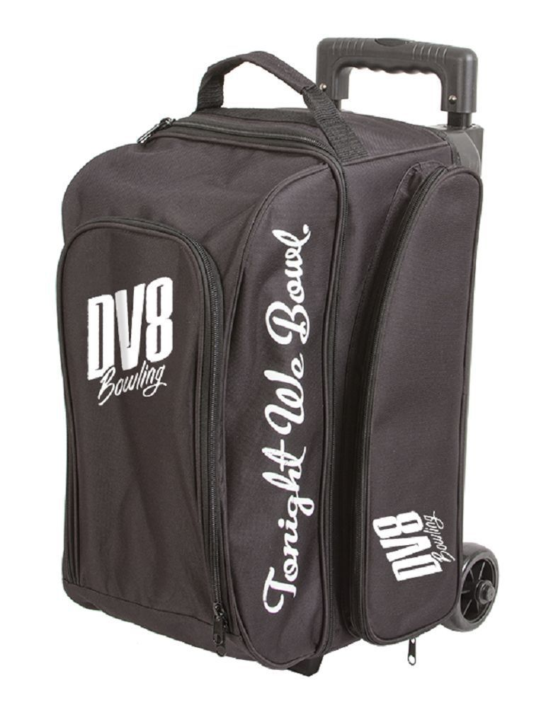 fe999a91b6 2 Balls 71095  Dv8 Freestyle 2 Ball Roller Bowling Bag Color Black -  BUY  IT NOW ONLY   59.95 on eBay!