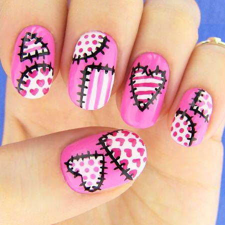 Stitched Nails Httpsmakeupbeelookplookid97272