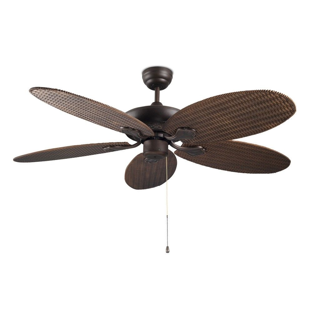 Phuket Ceiling Fan With Optional Light Categories Decorative Ceiling Fan With Light Leds Ceiling Fan Decorative Ceiling Fans Ceiling Fan With Light