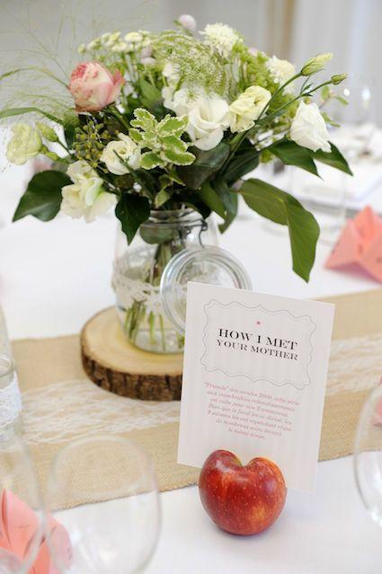 Photo d'une superbe composition florale by Actuel Flors. Beautiful wedding. #wedding #mariage #fleurs
