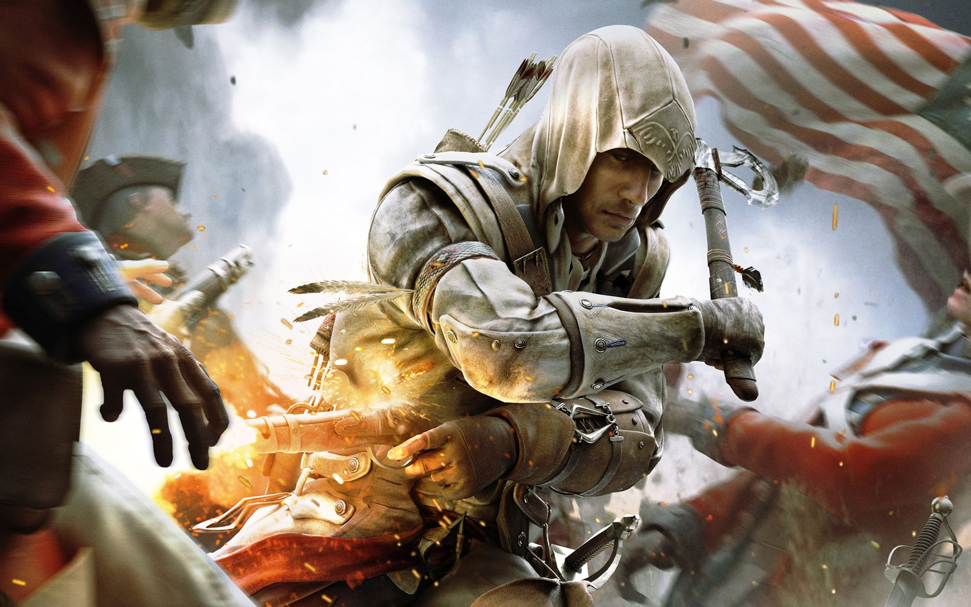 Assassins creed games free online - Hd Assassin S Creed Iii Game Wallpaper For Download 10226