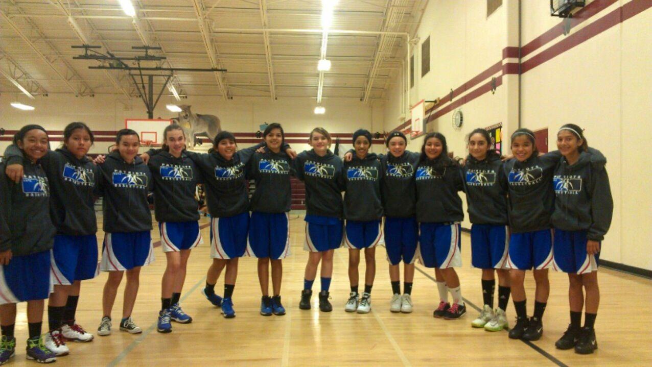 navelencia middle girls basketball team 2013 2014
