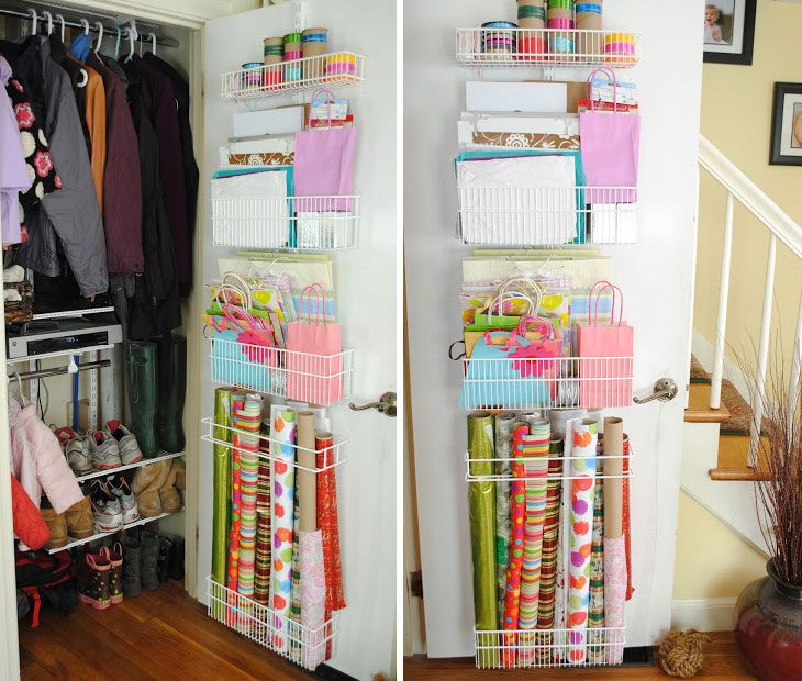 Wallpaper organization easy storage ideas for small - Gifts for small apartments ...