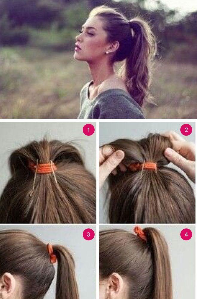 Wir haben für Sie einfache Frisuren zusammengestellt. Machen Sie in kurzer Zeit Wunder mit täglichen Frisuren, die Ihre Morgenvorbereitung beschleunigen! – Pinterest Blog