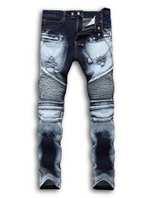 d8ba95f4b7a Insanely Cheap Balmain Jeans - Best Replica Mens Biker Jeans in 2019 ...