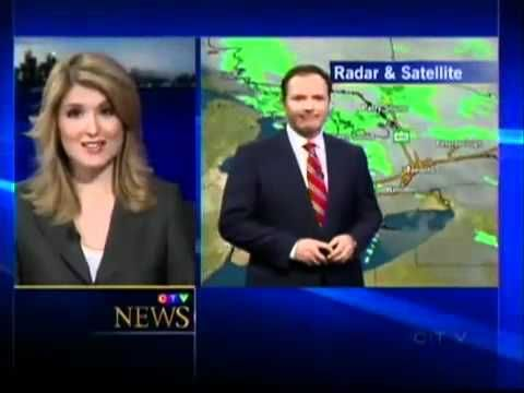 Awesome Weather Forecast Hourly Weather Ctv Canadian Weatherman Joins News Blooper Hall Of Fame Ctv News Toronto Canadian Weath Bloopers Fame Canadian