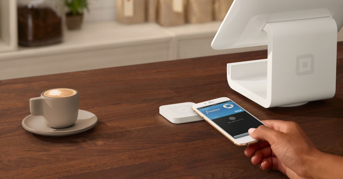 Accept Apple Pay everywhere. Get your free Square Reader