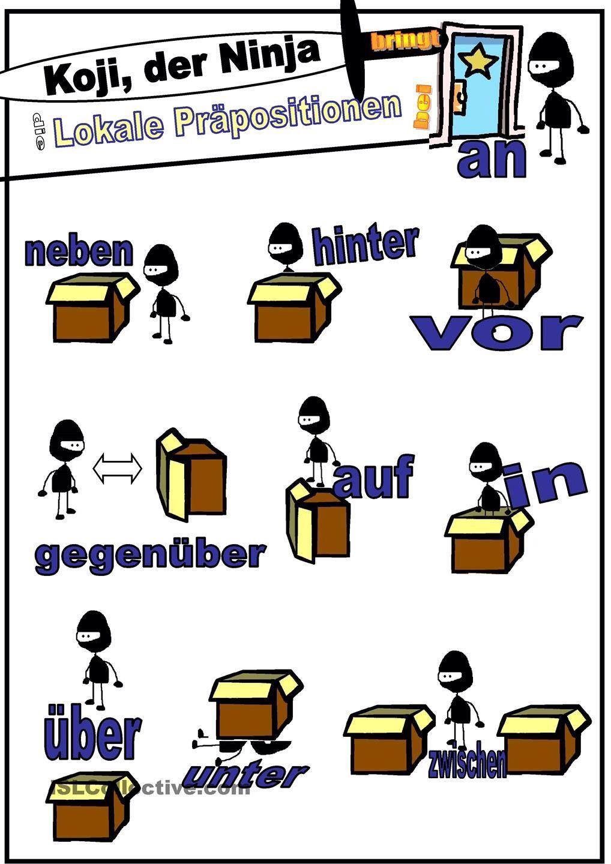 Englisch Gegenüber