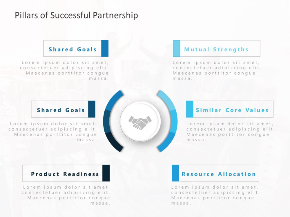 Vendor Partnership Objectives Business Powerpoint Templates Powerpoint Templates Templates