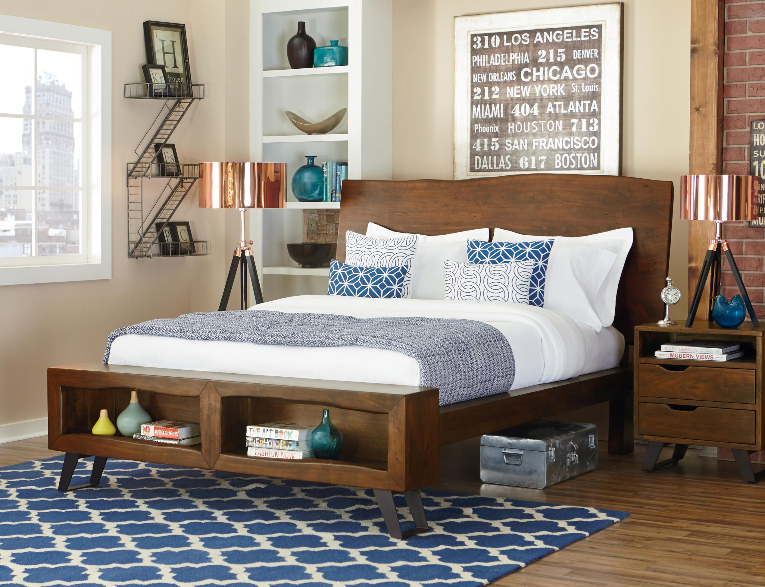 From The London Loft Collection Urban Style Bedroom Made