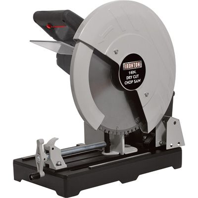 Dry Cut Metal Saw is powerful enough to cut pipe angle iron conduit and more. It is capable of cutting up to 4 3/4in. round and 4 ...  sc 1 st  Pinterest & Ironton Dry Cut Metal Saw u2014 14in. 15 Amps 1450 RPM   Power Tools ...