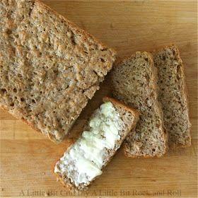 A Little Bit Crunchy A Little Bit Rock and Roll: Whole Wheat Oatmeal Bread