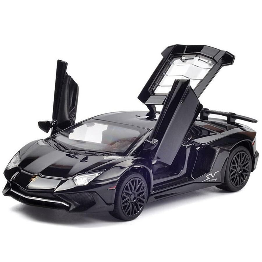 1 32 Lamborghini Aventador Lp 750 Die Cast Model Sound Light Pull Back Car Ebay New Model Car Lamborghini Aventador Diecast Model Cars