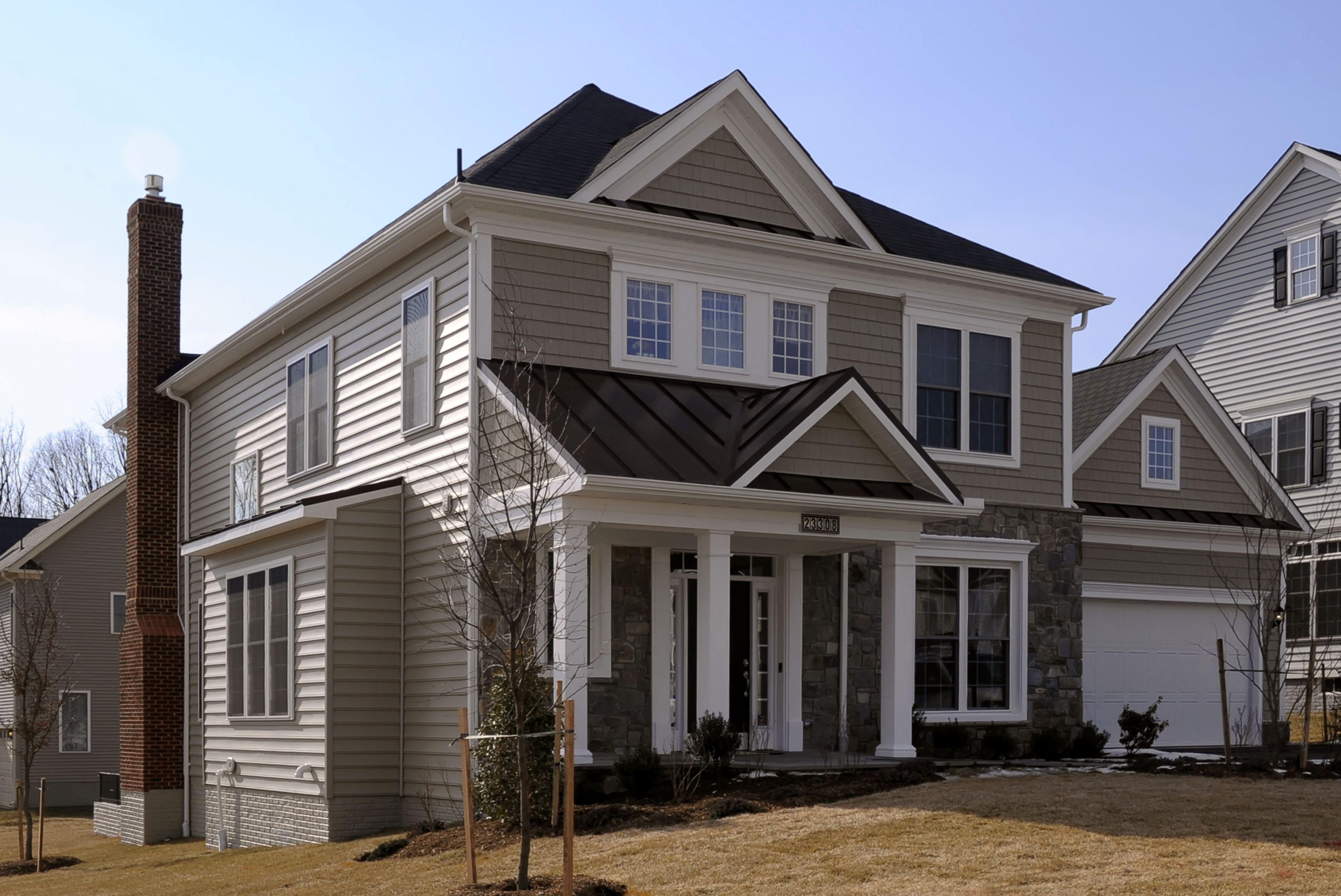 Universal Design Zero Step Entry Home At Clarksburg Village Home