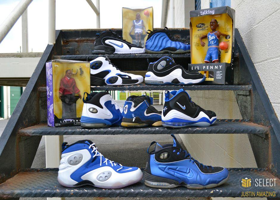 Nike shoe · Penny Hardaway Collections