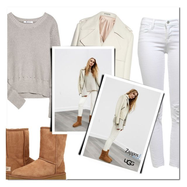 """""""The Icon Perfected: UGG Classic II Contest Entry"""" by katienochvay ❤ liked on Polyvore featuring UGG Australia, T By Alexander Wang, Balenciaga, UGG, J Brand, ugg and contestentry"""