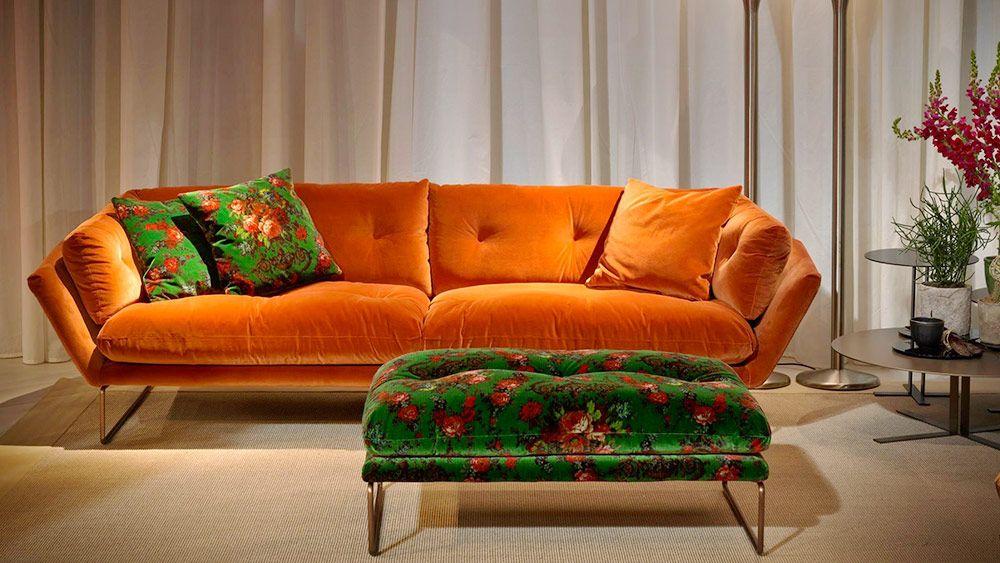 I colori perfetti per il divano 2017 saba al salone del for Colori per salone