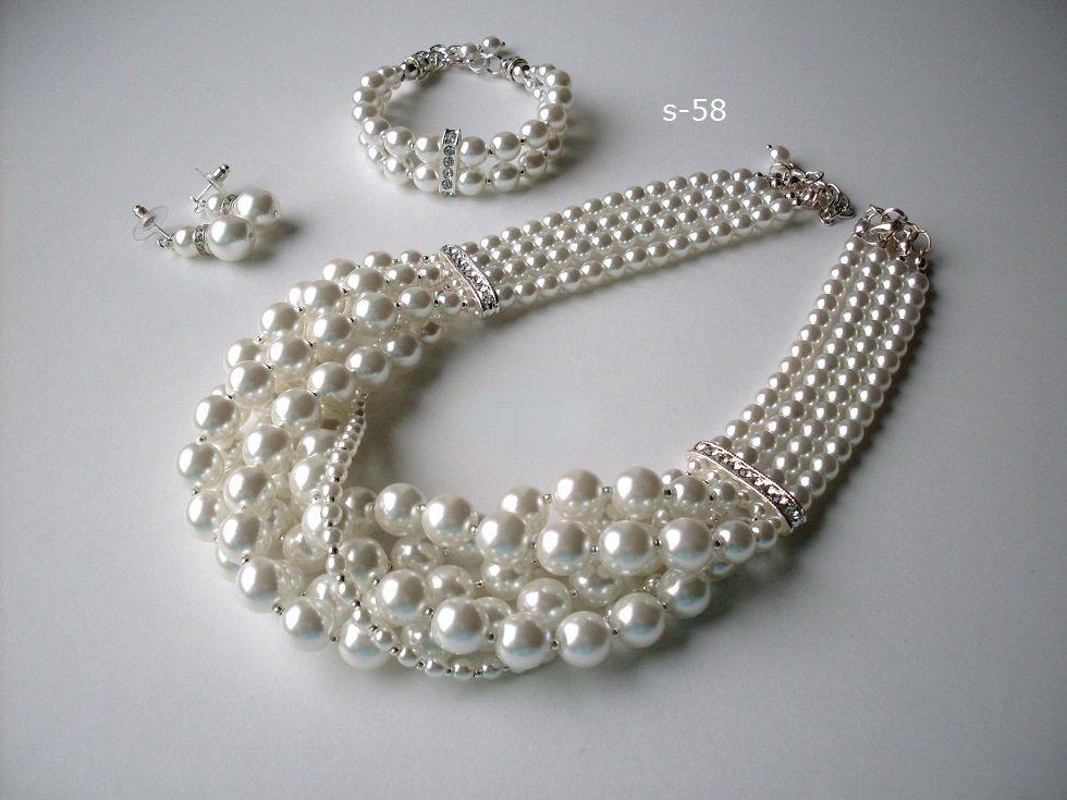 Luxusná svadobná bižutérie, perly, swarovski, úpravy na přání, svatební náušnice, náramky, náhrdelníky, vintage style, boho style, glamour style,... Vyberte barevnou kombinaci a my Vám uděláme exkluzívní kousek jenom pro Vás