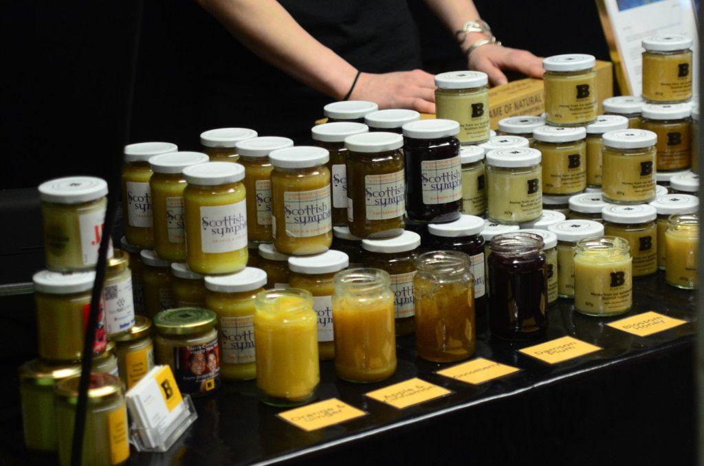 Edinburgh International Science Festival 2014 Honey and jams from Plan Bee