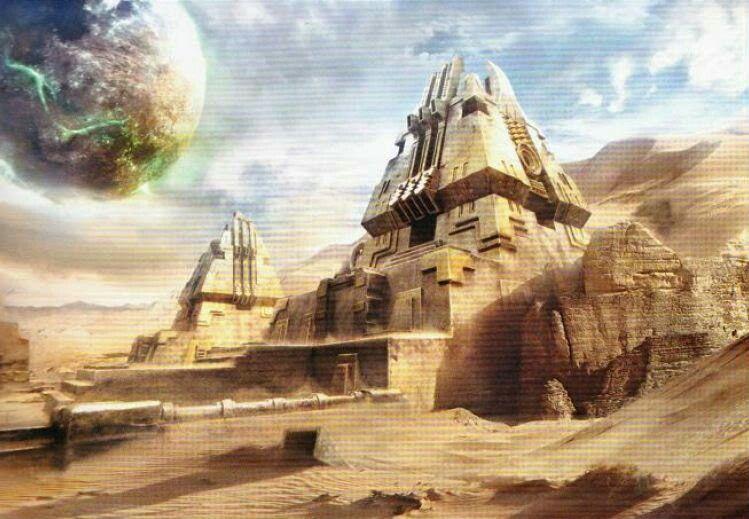 Necron Tomb World