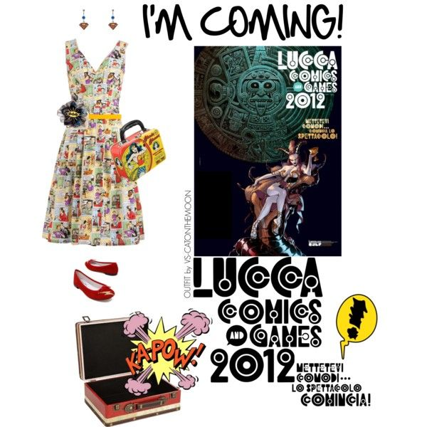 """""""I'm coming! (Lucca Comics & Games 2012)"""" by veronica-sinetti on Polyvore  ★★★ Themed outfits for an amazing fair! ★★★"""