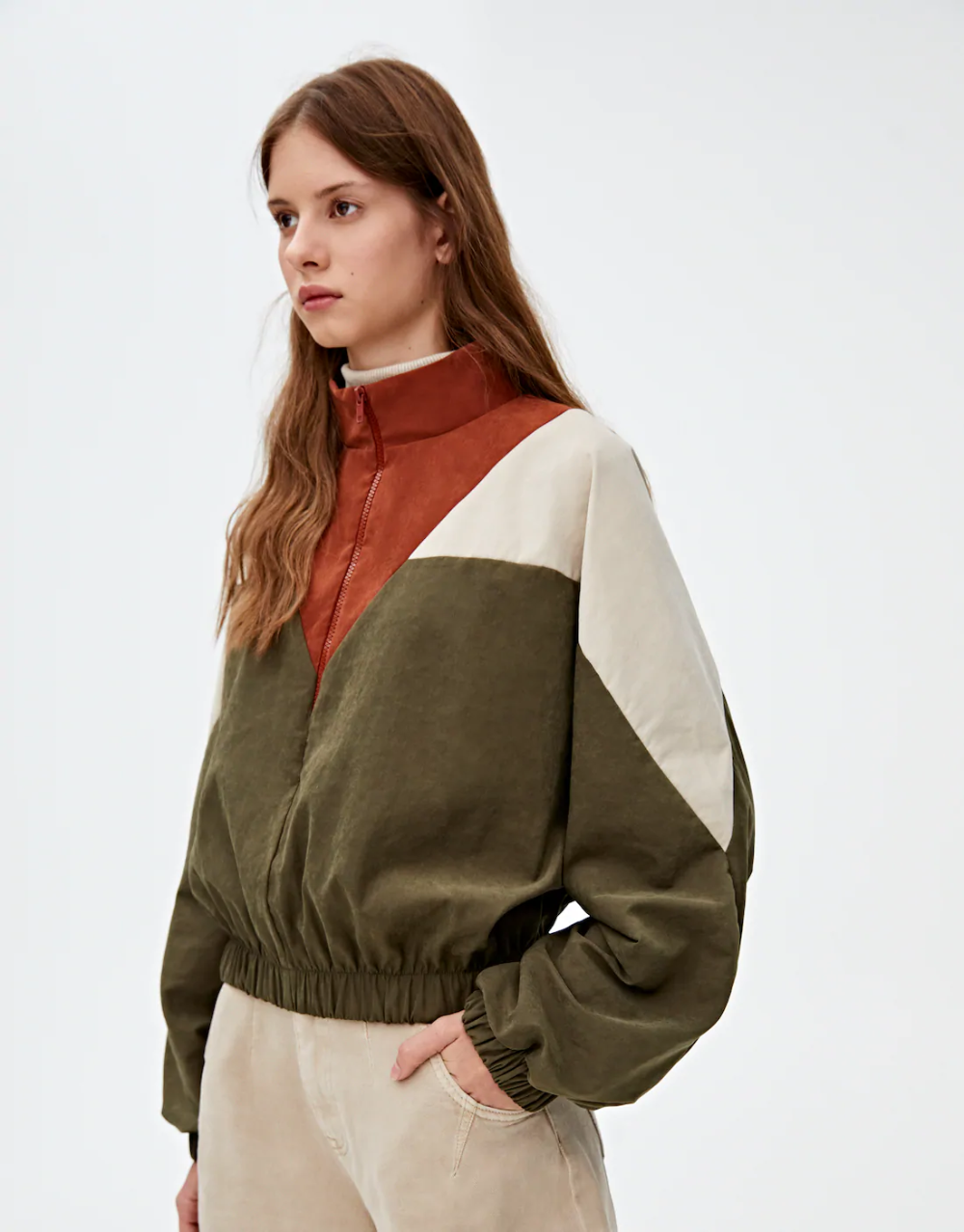 Check Out The Latest In Women S Blouses And Shirts Pull Bear быть женщиной куртка с капюшоном модные стили