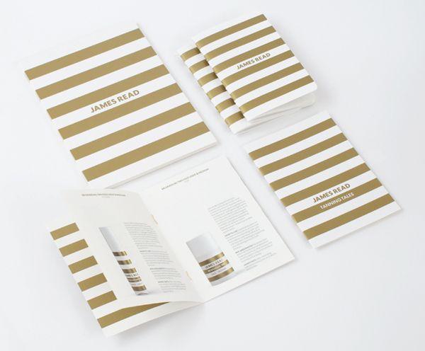 Logos Print With Gold Spot Colour