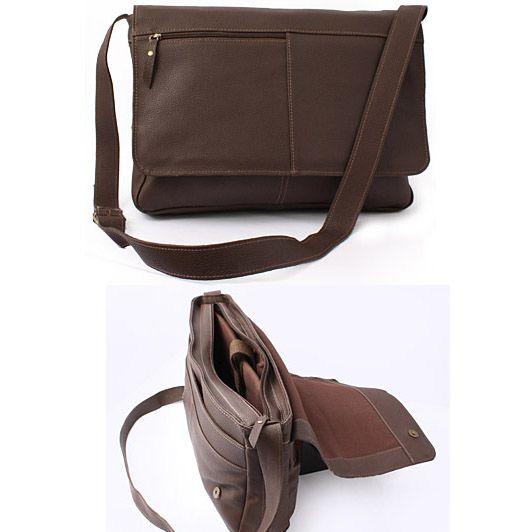 6964ca9fd Bolsa Carteiro Couro Legitimo :: EBOLSAS   Cool   Leather briefcase ...
