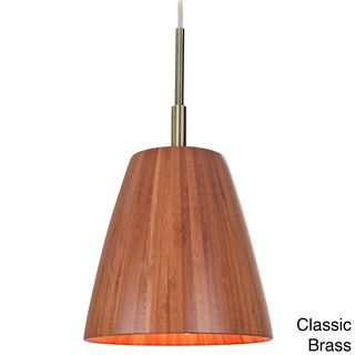 @Overstock.com - Sorg 1-light Adnap Bamboo Mini Pendant - This stylish one-light pendant fixture will lend a natural look to your home decor. Crafted of natural bamboo, this trendy light fixture includes beautiful finished hardware for a stunning contrast that will complement any living space.  http://www.overstock.com/Home-Garden/Sorg-1-light-Adnap-Bamboo-Mini-Pendant/8378195/product.html?CID=214117 $185.00