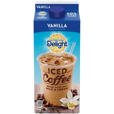 International Delight Vanilla Iced Coffee, 0.5 gal, Size: 1/2 GAL - Products -