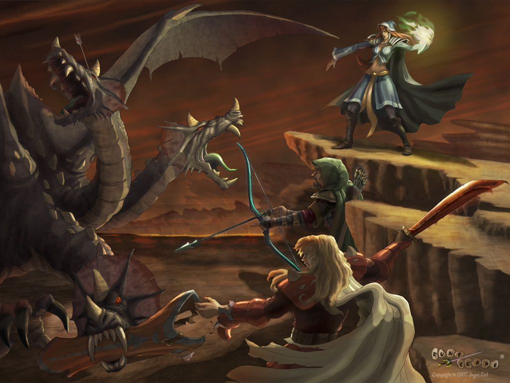 RuneScape Wallpaper  | A Tale of Knights and Dragons in 2019