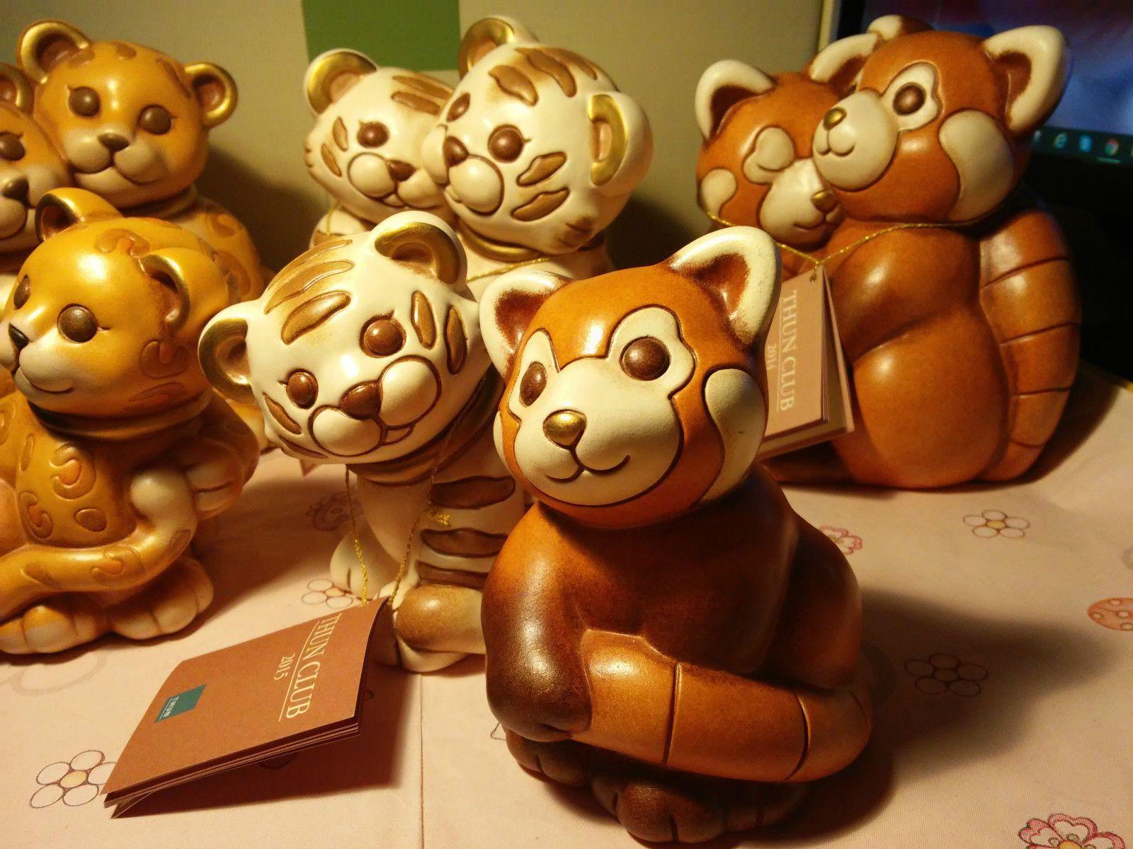 Webmobili ~ Thun club panda rosso edizione limitata 2014 nuovo scatola