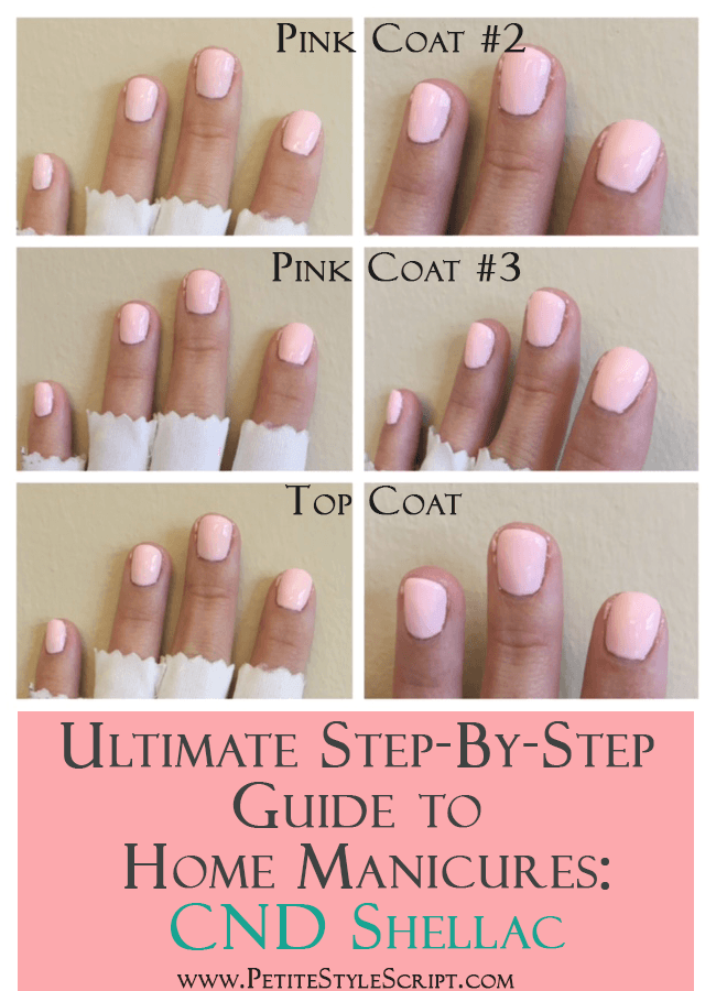 Ultimate Guide To At Home Manicure Cnd Shellac Nail Polish Gel Polish Step By Step Guide 14 Days Without Chi Manicure At Home Gel Nails Diy Manicure
