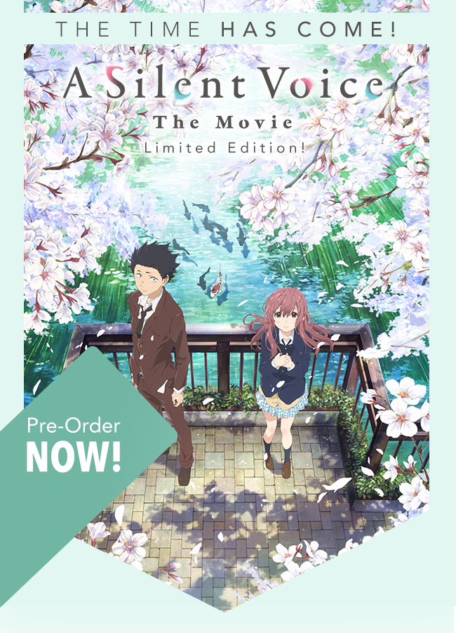 A Silent Voice Limited Edition Bluray Voices movie, The