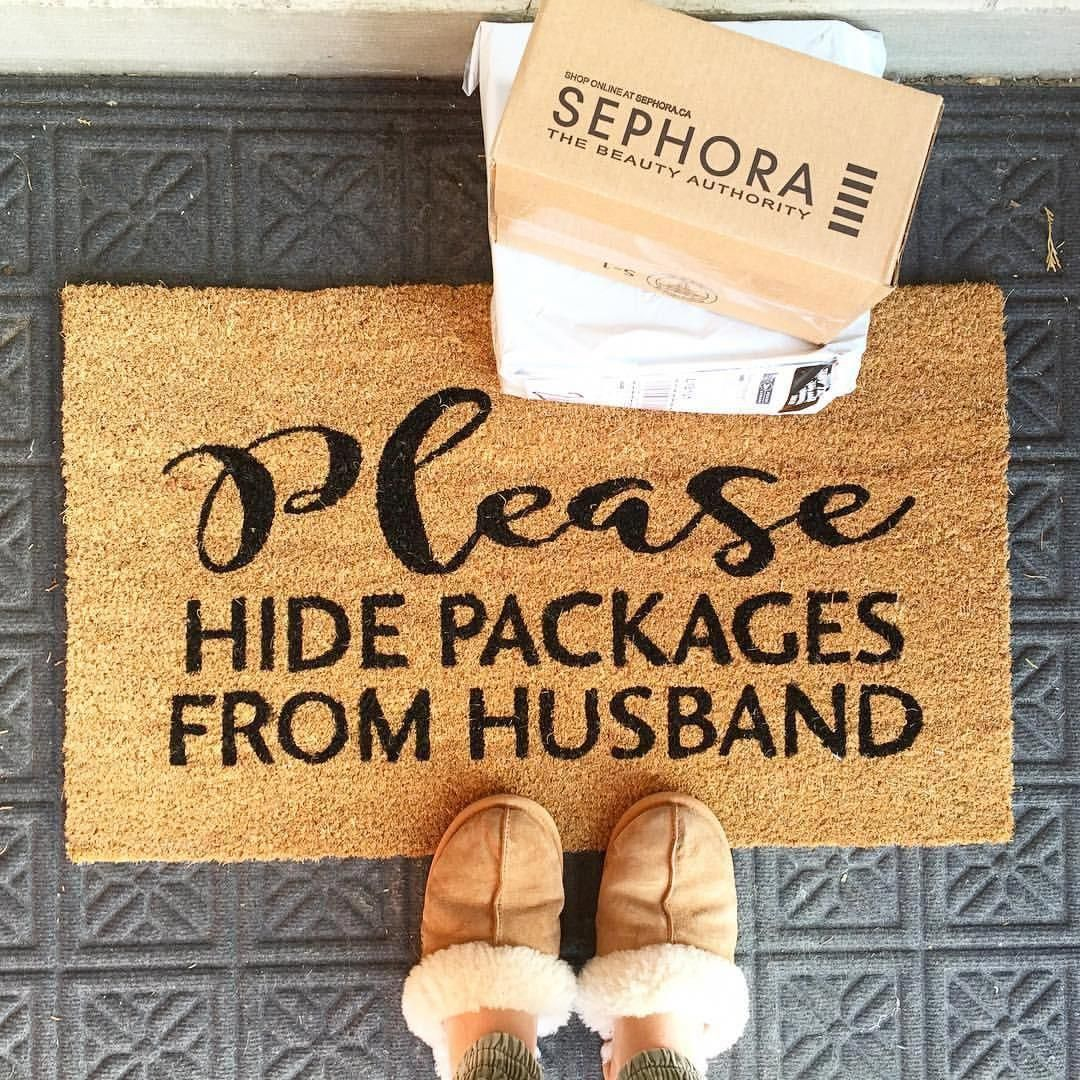 8 Design And Functional Libraries Funny Home Decor Door Mat Diy