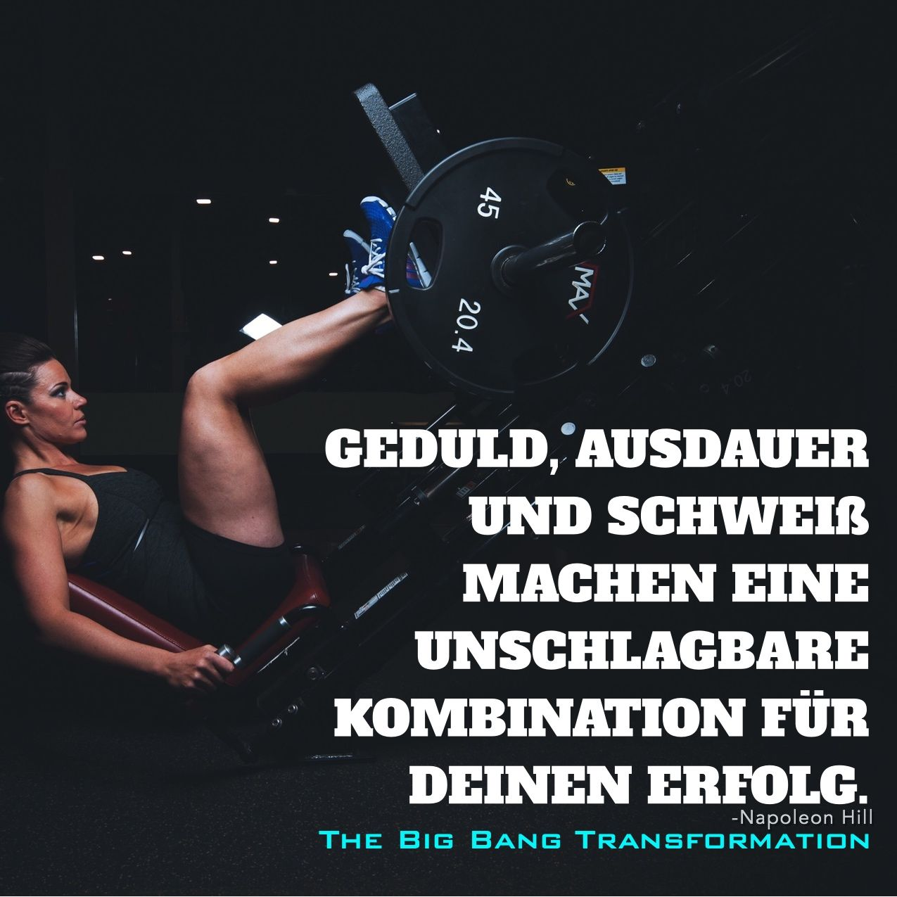 FITNESS | MOTIVATION | TRANSFORMATION  Zitat, Sprüche, Fitnessmotivation,  Beastmode, Abnehmen,