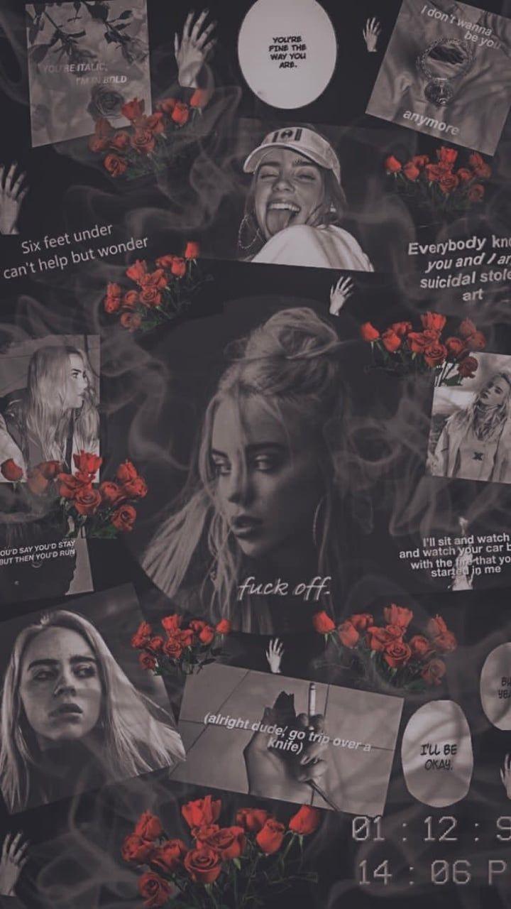 Billie Eilish Wallpaper Discovered By Dyah On We Heart It Billie Billie Eilish In Icons